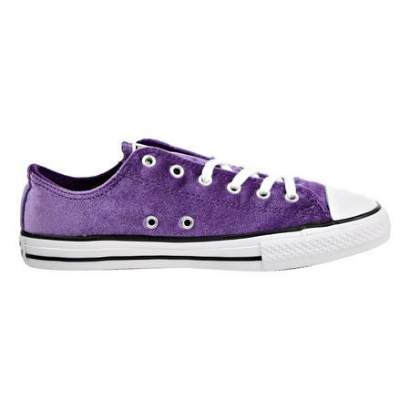 ddf685df4d75 Converse CT All Star Ox Little Kids Big Kids Shoes Night Purple White  658211f - Walmart.com