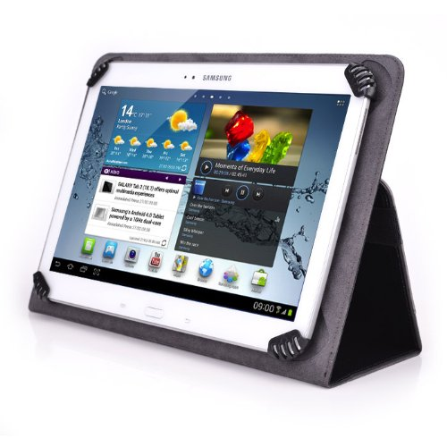 """EMATIC EGD103 10"""" Tablet Case - UniGrip 10 Folio Case Edi..."""