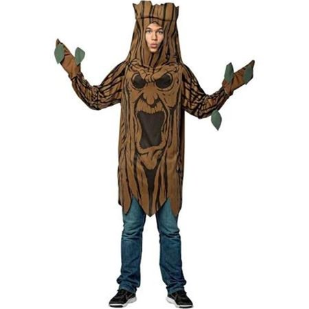 Mens Scary Tree Adult Tunic Costume - Scary Rabbit Costume