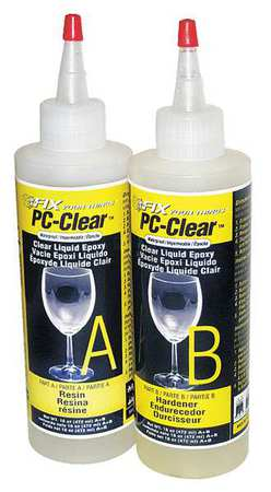 Pc Products 70161 Fast Setting Epoxy Adhesive, 16 oz. by PC Products