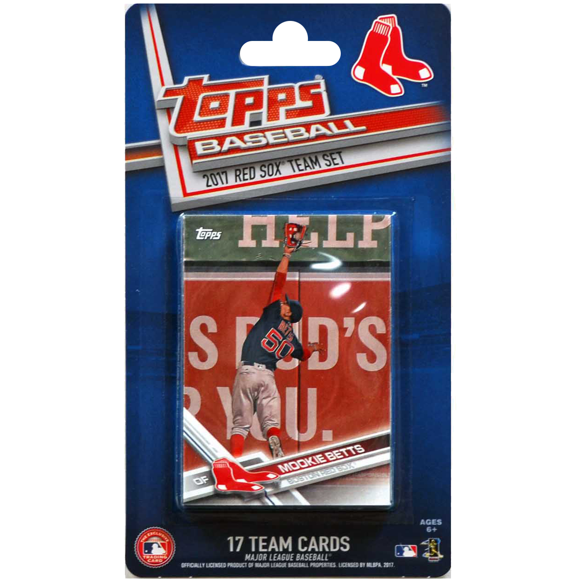 Boston Red Sox 2016/17 Team Set Baseball Trading Cards - No Size