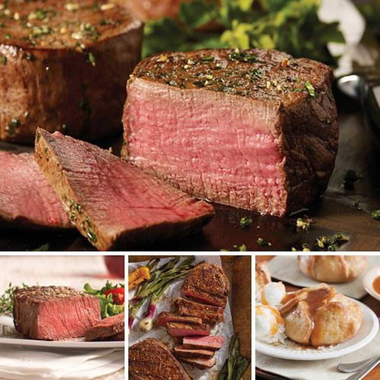 Omaha Steaks Steak Lovers Holiday Gift Pack Father's Day Food Christmas Gift Package Gourmet Deluxe Steak Gift