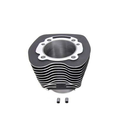 103 Twin Cam Stock Replacement Cylinder Black,for Harley Davidson,by V-Twin