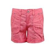 INC International Concepts Women's Cuffed Linen Shorts