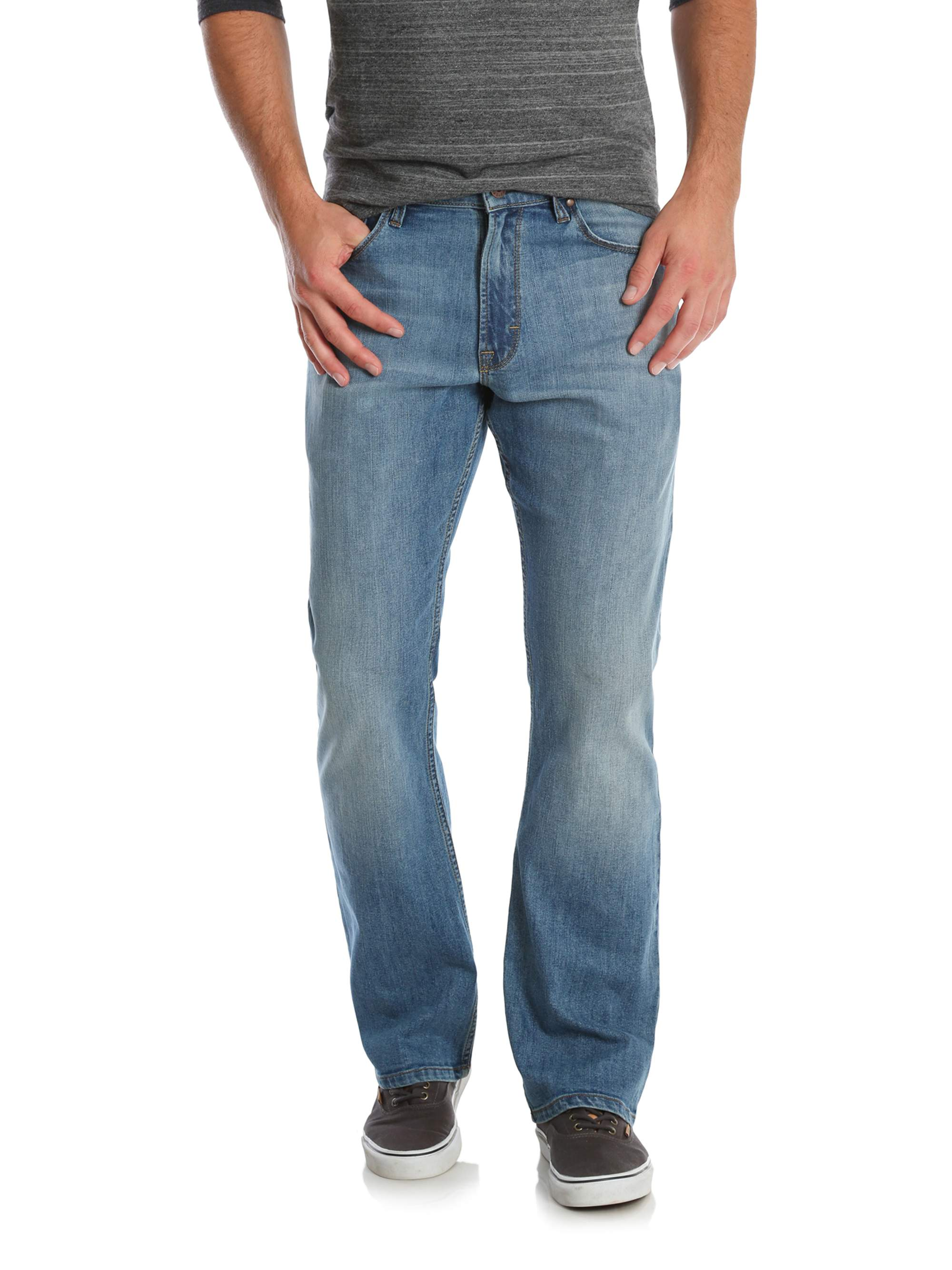 06ffcfa8d6f Wrangler - Men's Relaxed Boot Jean with Stretch - Walmart.com