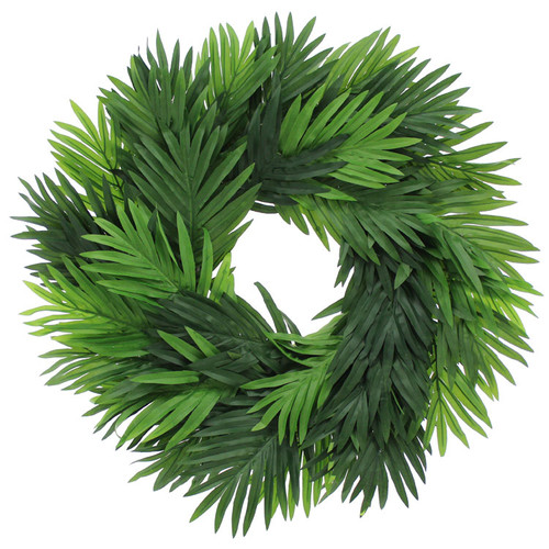 Urban Florals Dream Vacations 23'' Palm Wreath