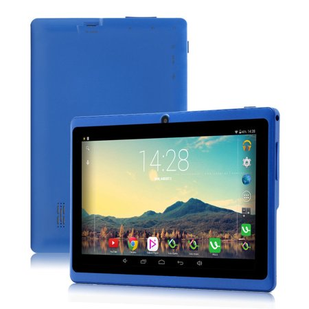 16Gb Blue Irulu 7  Android 6 3 Quad Core Dual Camera Tablet Pc Google Gms Upgraded Version With Charger