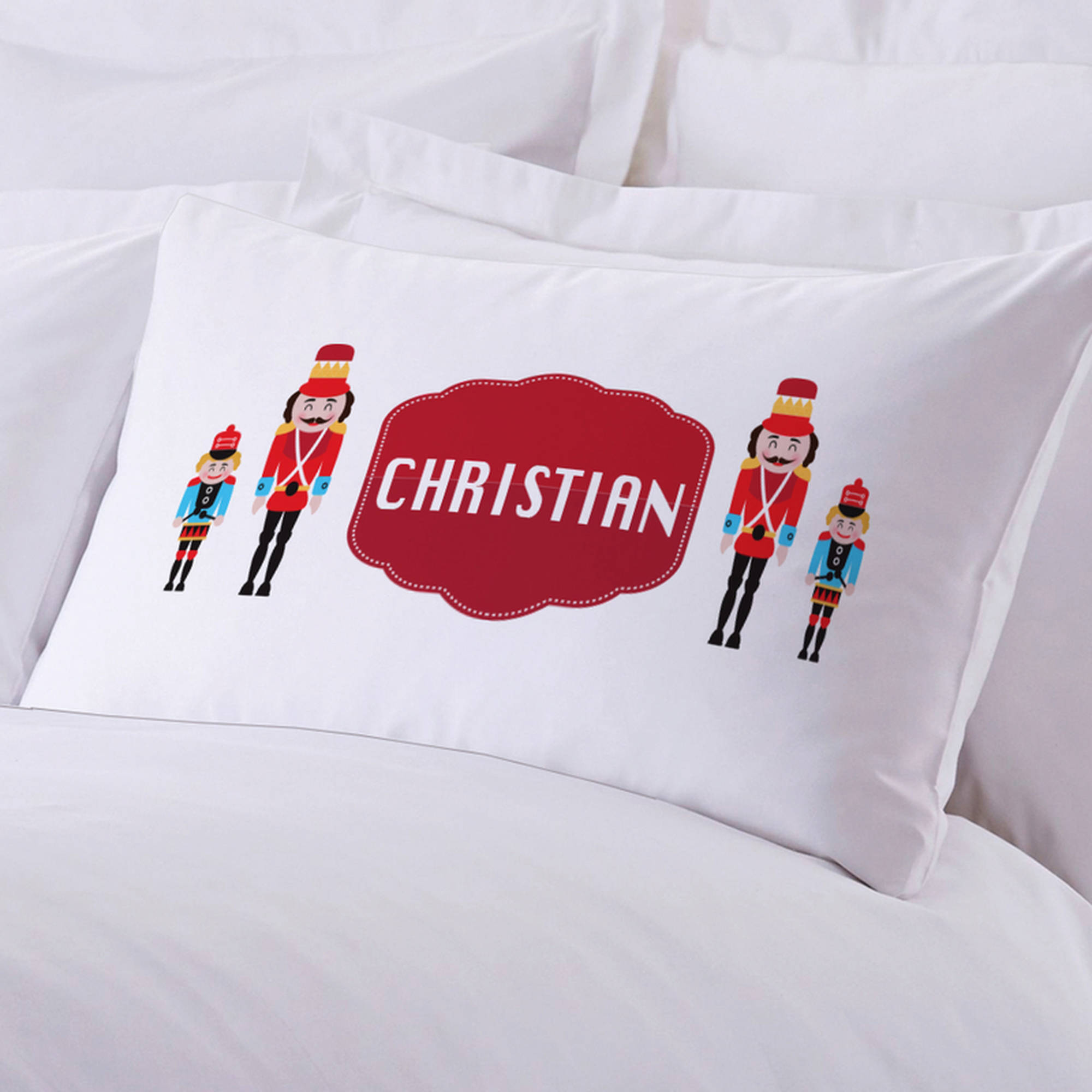 "Personalized Nutcracker Pillow Case, 20"" x 30"""