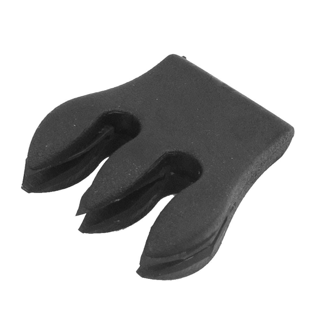 Black Double Grooves Rubber Cello Mute Musical Sordine by Unique-Bargains