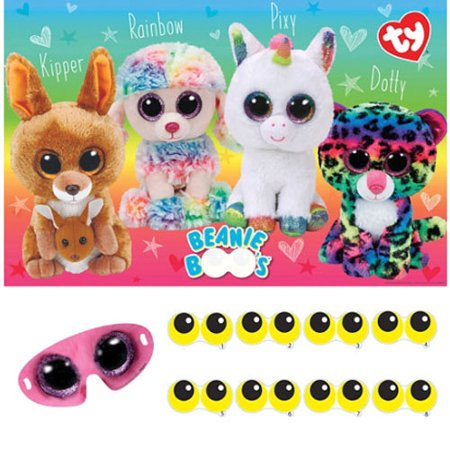 Beanie Boos Party Game Poster (1ct) (Beanie Boo Party Supplies)