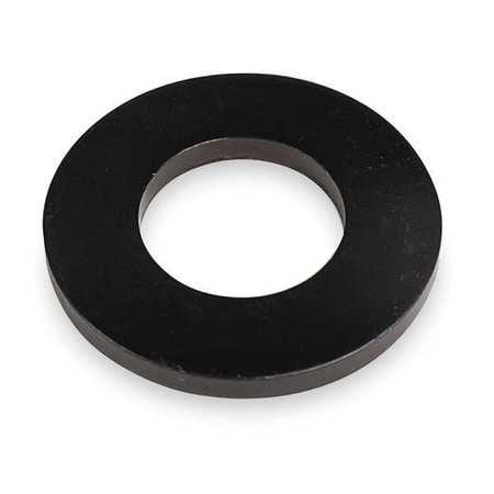"TE-CO 5/16"" x 3/4"" OD Black Oxide Finish Case Hardened Steel Flat Washer, 42602"