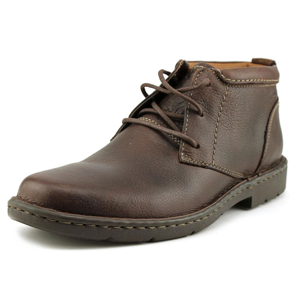 Clarks Narrative Stratton Limit Men W Round Toe Leather B...