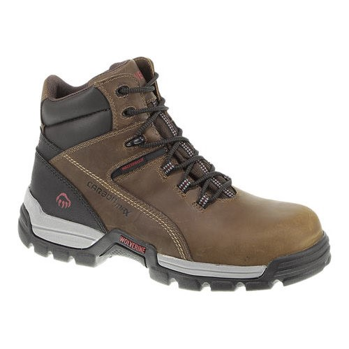 wolverine men's tarmac work boot,brown,9 xw us