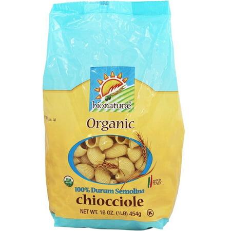Bionaturae Organic Pasta - 3 Pack - Bionaturae Organic Durum Semolina Pasta Chiocciole 16 oz