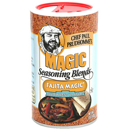 Chef Paul Prudhomme's Magic Fajita Southwest Flavor Seasoning Blends, 5 oz (Pack of 6)