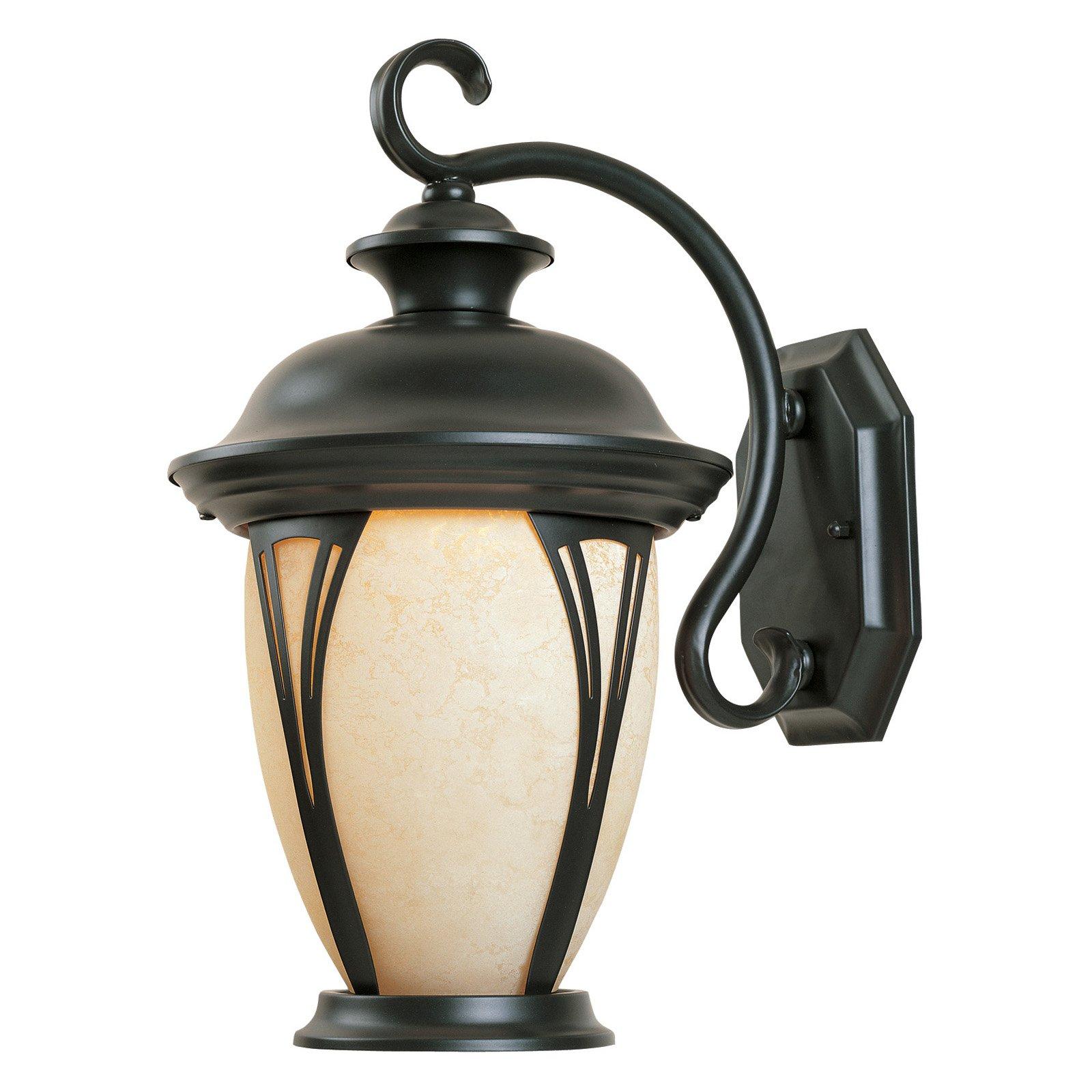 Designers Fountain Outdoor 30521-AM-BZ Westchester Wall Lantern