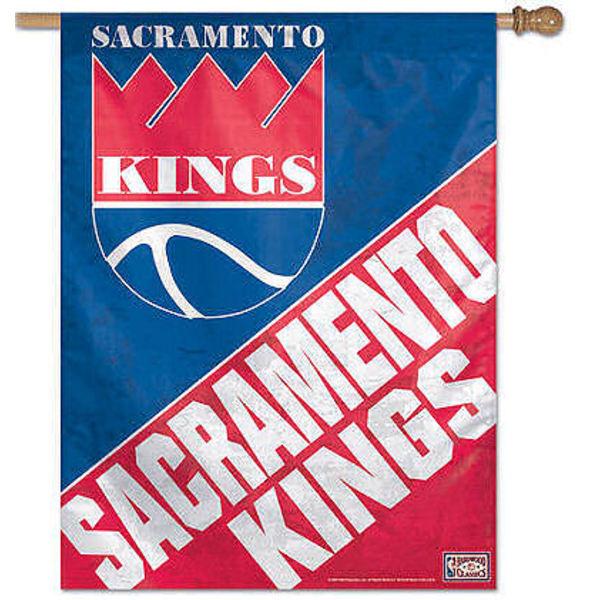 Sacramento Kings Flag Throwback House Flag Banner