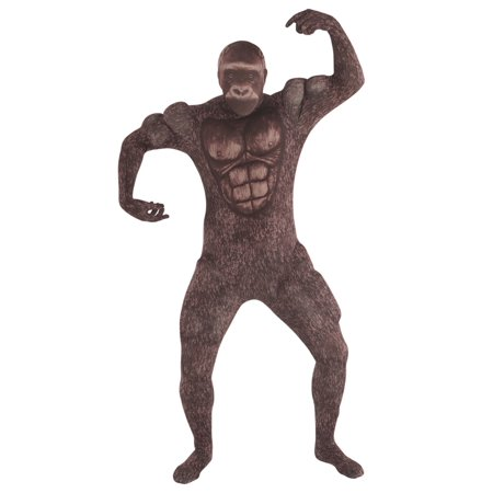 Adult Muscle Gorilla Morphsuit Costume - Gorilla Costume For Adults