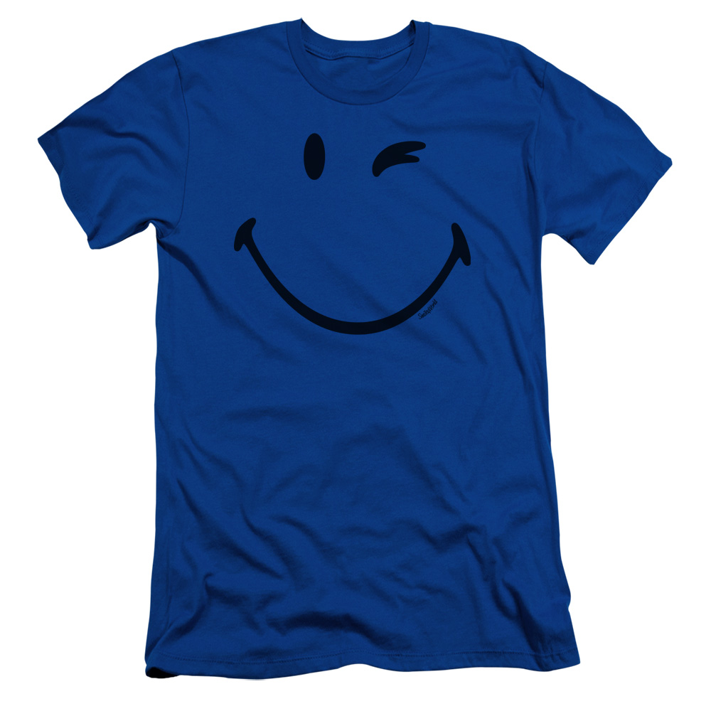 Smiley World Big Wink Mens Slim Fit Shirt