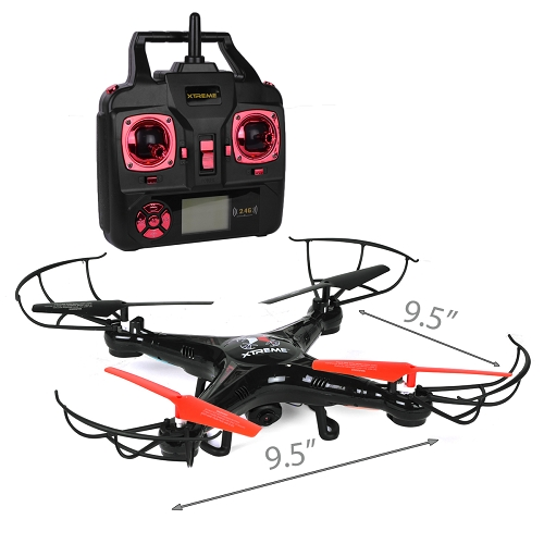 JEM XDG6 1003 BLK Quad Copter Drone With Video