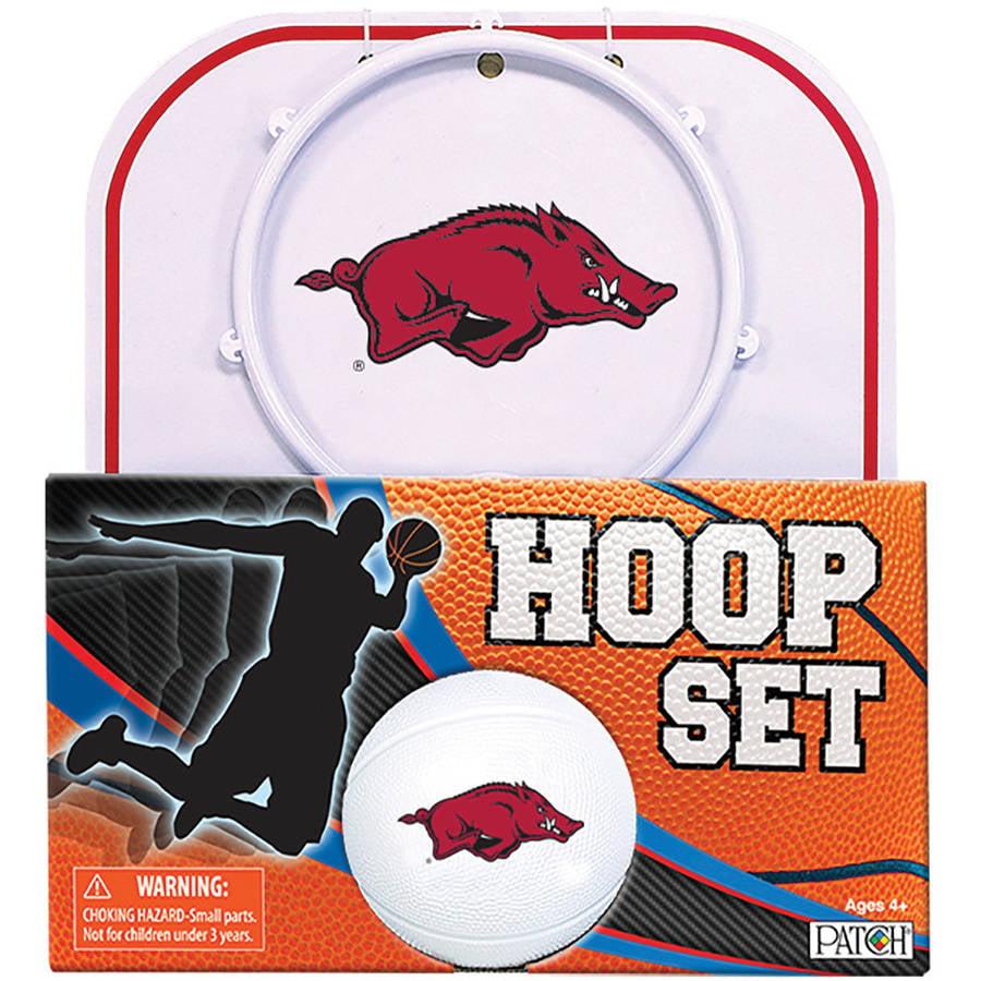 Officially Licensed NCAA Arkansas Hoop Set