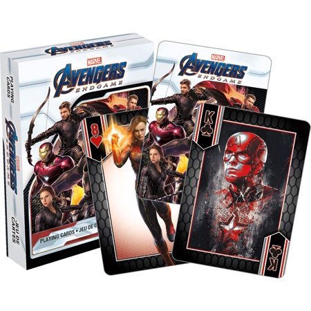 Aquarius Marvel Avengers End Game Movie Playing Cards ()
