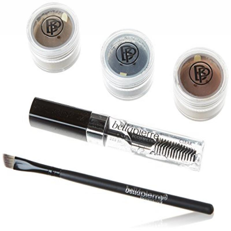 BellaPierre Cosmetics Eye and Brow Kit, 5-Count