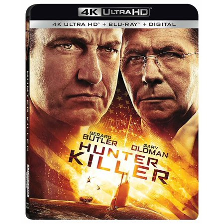 Round Ultra Hunter - Hunter Killer (4K Ultra HD + Blu-ray + Digital Copy)