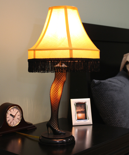 A Christmas Story 20 inch Leg Lamp Prop Replica by NECA