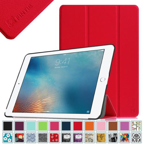 Fintie Apple iPad Pro 9.7 inch Case - [Ultra Slim] Smart Shell Cover with Auto Sleep / Wake Feature, Red