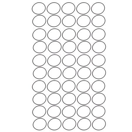 50pcs Black 46.2mm x 1.8mm Oil Resistant Sealing Ring O-shape NBR Rubber (Zastava Ak 47 M70 O Pap For Sale)