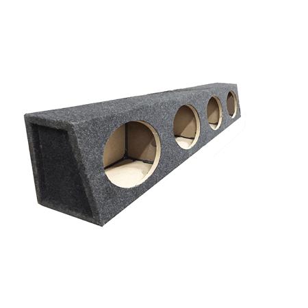 "6"" x 9"" 4 Way Speaker Box Enclosure MDF and Carpet Construction New"