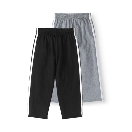 Jersey Tape Pants, 2-pack (Toddler Boys)