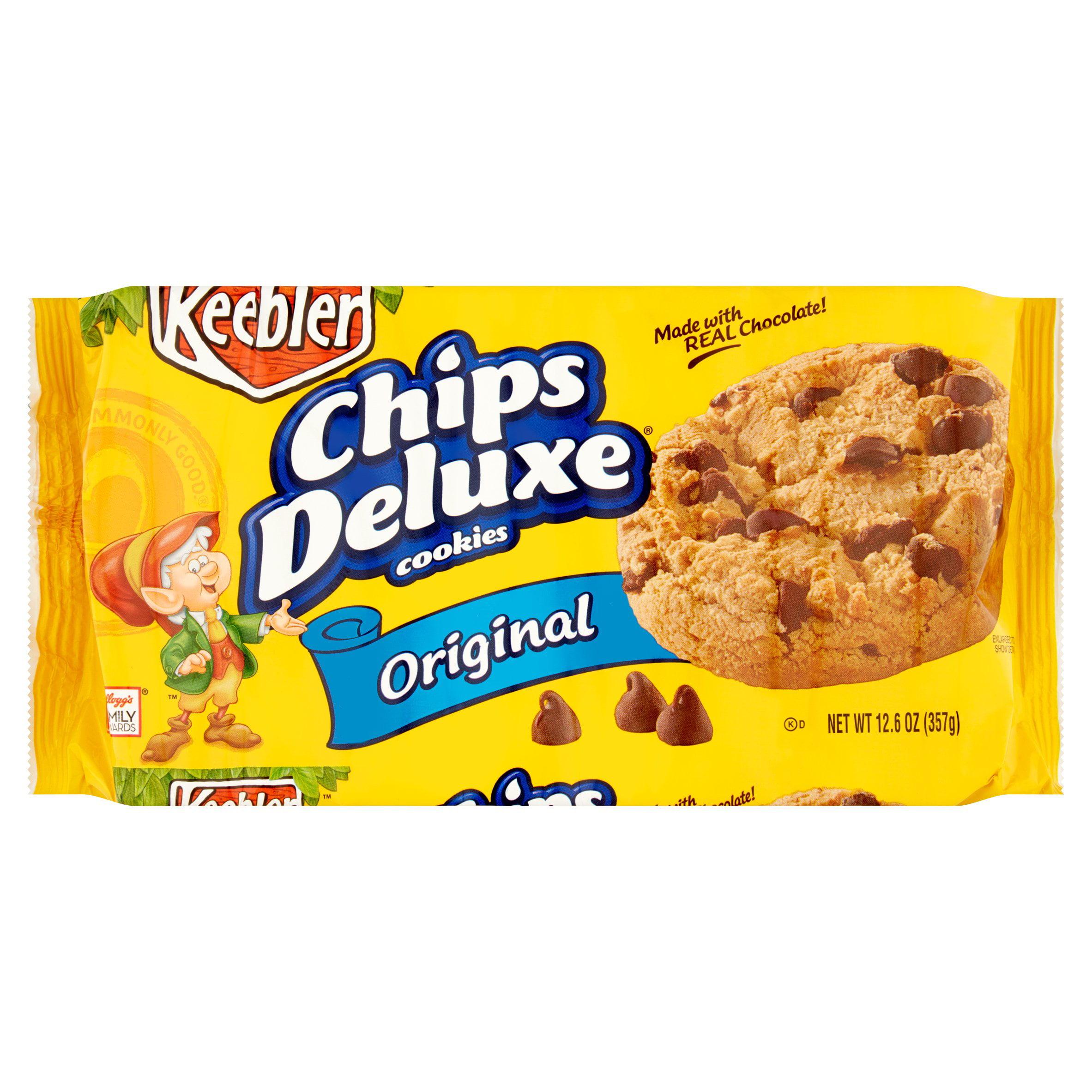 Keebler Chips Deluxe Original Cookies, 12.6 oz, 12 count