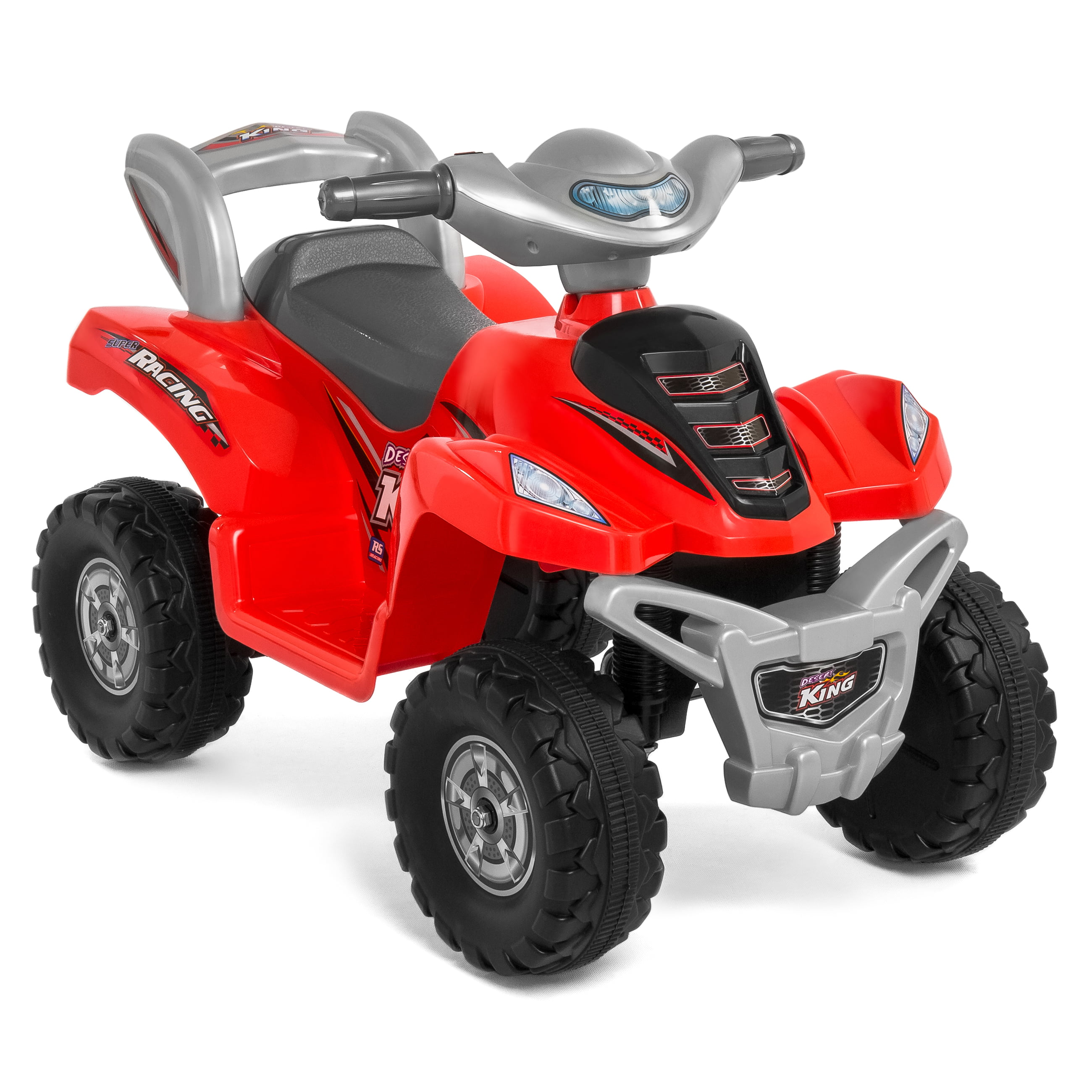 c50bd7328c9 Best Choice Products 6V Kids Battery Powered Electric 4-Wheeler Quad ATV  Bicycle Toddler Ride-On Toy w  Charger