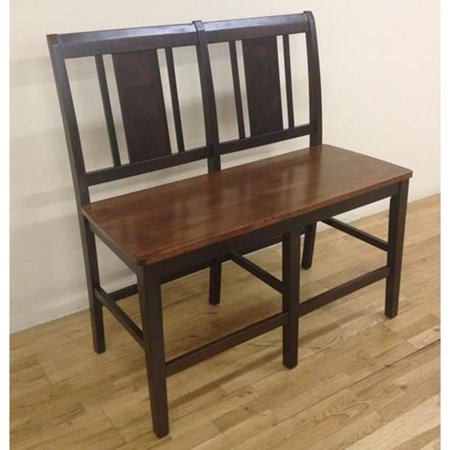 Neo Classic Furniture (New Classic Furniture Latitudes Ginger and Chestnut Vertical Back Counter Height Bench)
