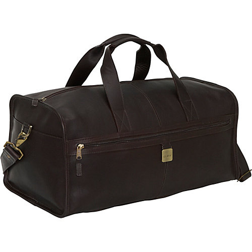 "Clava Leather 23"" Large Square Duffel"