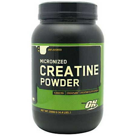 Optimum Nutrition Micronized Creatine Powder, Unflavored, 2000 GM