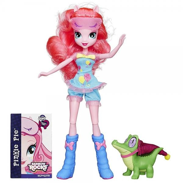 My Little Pony Equestria Girls Rainbow Rocks Pinkie Pie and Gummy Snap Set