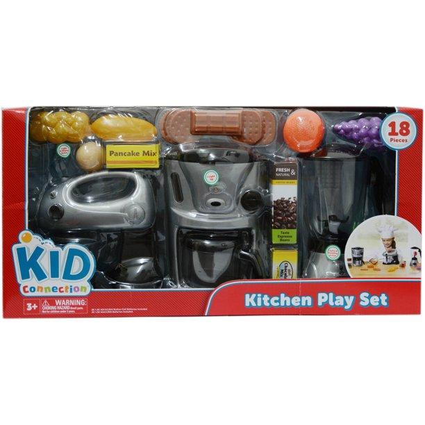 Kid Connection Kitchen Play Set Walmart Com Walmart Com