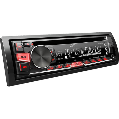 JVC KD-R460 Android USB/CD Receiver with AUX Port