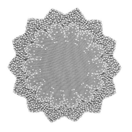 Heritage Lace BL-4200W 42 in. Blossom Round Table Topper - Table Topper