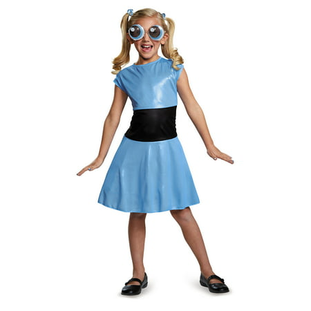 Disguise Bubbles Classic Powerpuff Girls Cartoon Network Costume, X-Large/14-16 (Powerpuff Girl Costumes Diy)