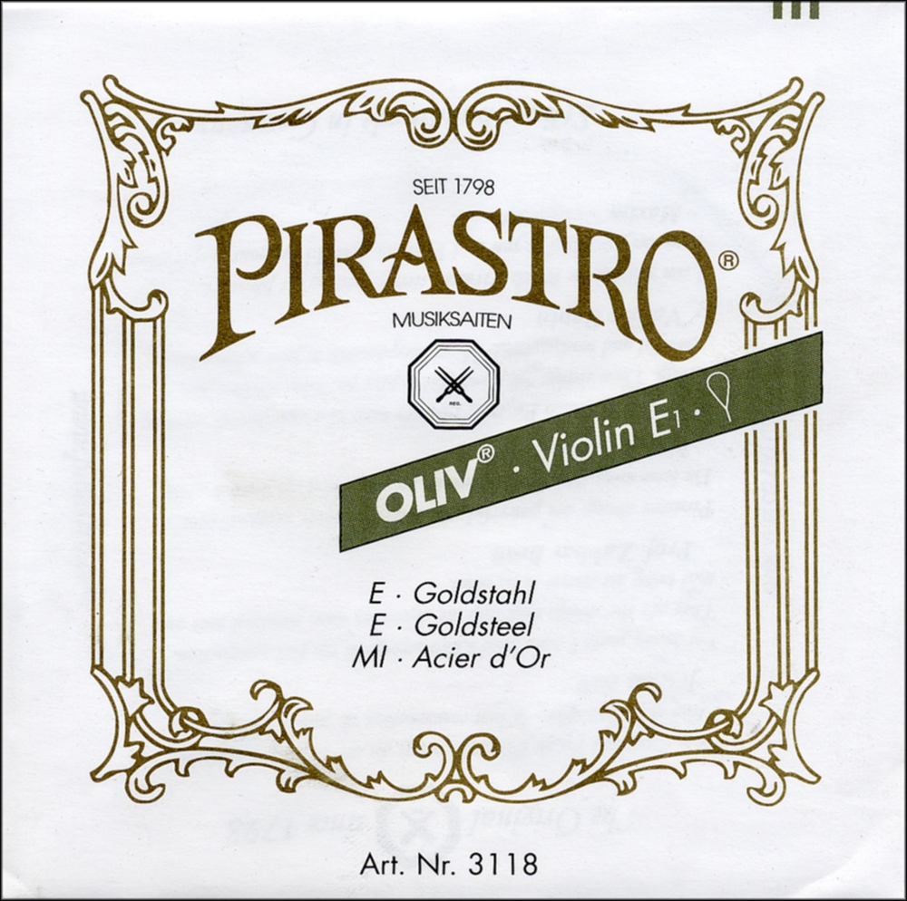 Oliv Series Violin String Set by Pirastro