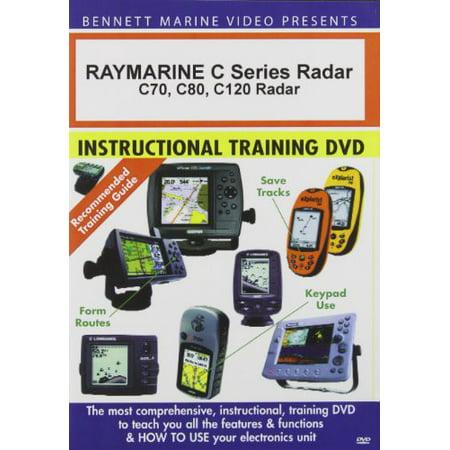Bennett Dvd Raymarine Radar - Raymarine C Series Radar: C70 C80 C120 Radar (DVD)