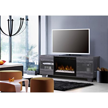- Dimplex Max Media Console Electric Fireplace With Acrylic Ember Bed for TVs up to 50