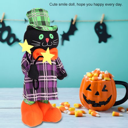 Cute Stretch Smill Doll Toy Prop Halloween Party Mall Supermarket Store Decor, Halloween - Cute Doll Halloween