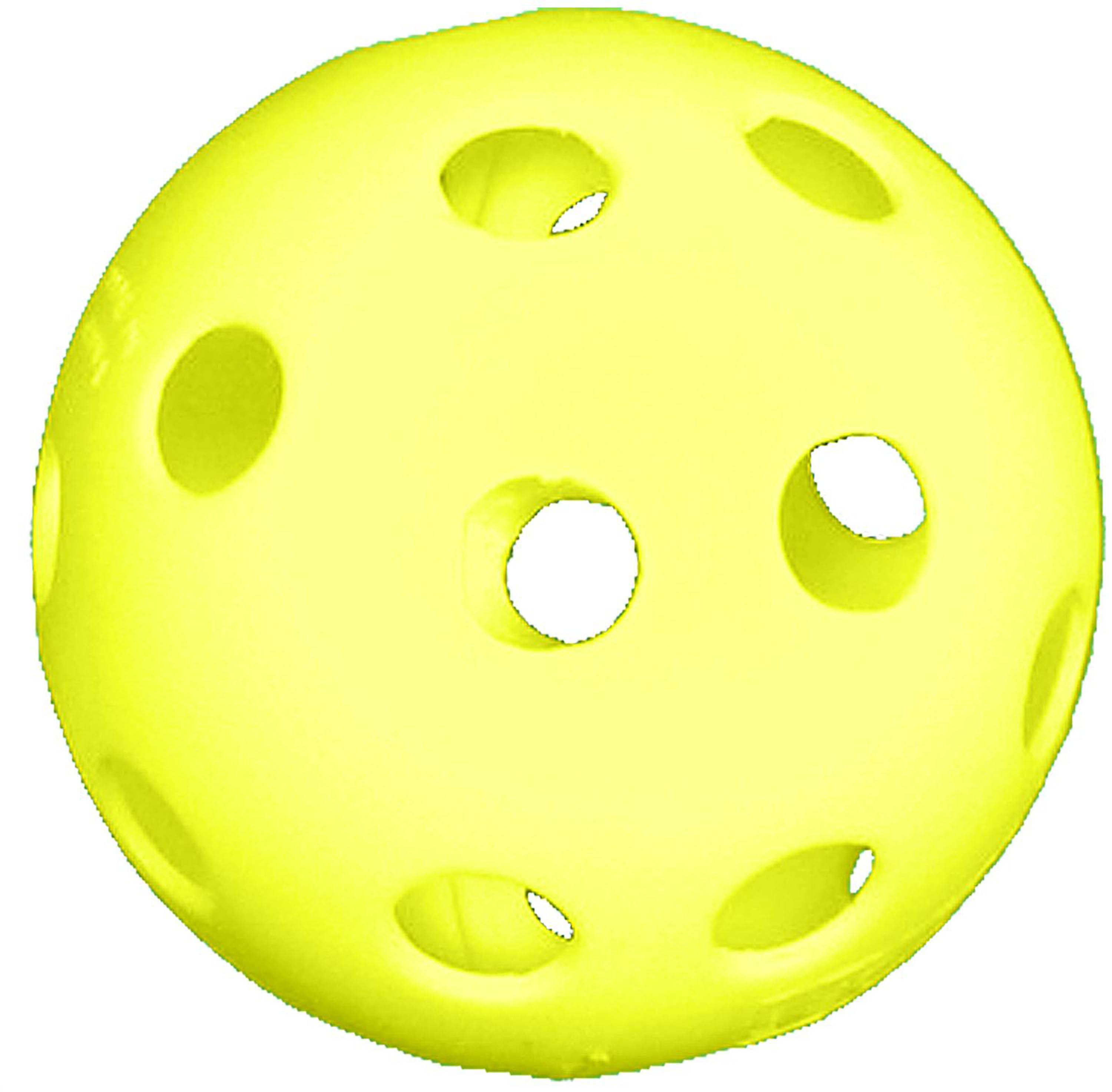 "Champro 12"" Yellow Poly Ball Softballs (Dozen)"