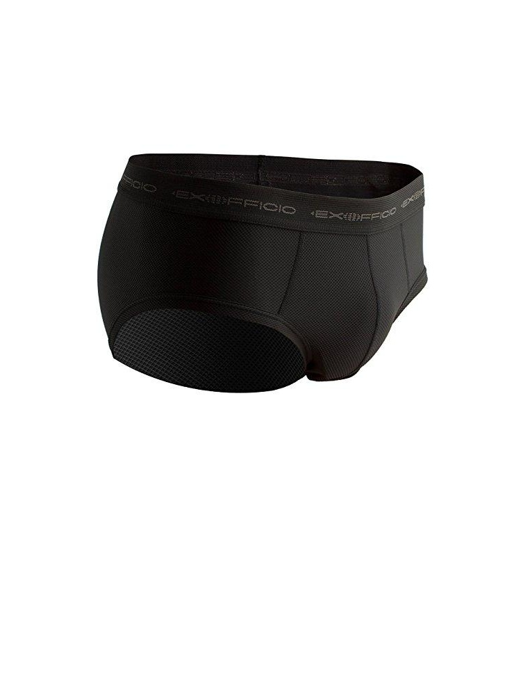 exofficio men's give-n-go flyless brief, black, large by ExOfficio