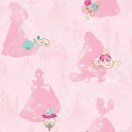 RoomMates Disney Princess Peel and Stick Wallpaper](Disney World Halloween Wallpaper)